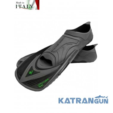 Ласты для спортивного плавания Aqua Sphere MicroFin HP black/gray