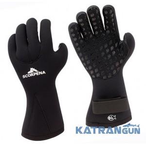 Перчатки для подводной охоты и дайвинга Scorpena C 6 мм