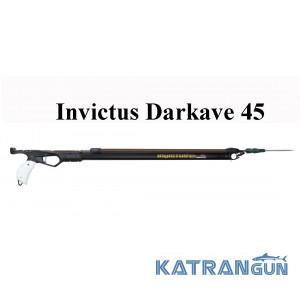 Маленький арбалет для подводной охоты Omer Invictus Darkave 45