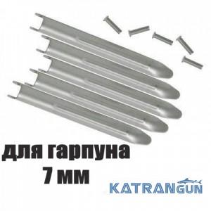 Флажки для гарпуна Salvimar (5 флажков + 5 заклёпок); 7 мм