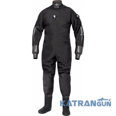 Сухой гидрокостюм Bare Aqua Trek Pro Dry Mens черный
