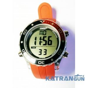 Підводні годинник комп'ютер Pyle, червоний ремінець, чорно-червоний ободок