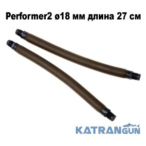 Тяги парные для арбалета Omer Performer2 ø18 мм длина 27 см; резьбовой зацеп 16 мм