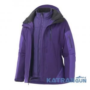 Функціональна мембранна куртка 2 в 1 Marmot Wm's Tamarack Component Jacket, Dark Violet / Ultra Violet