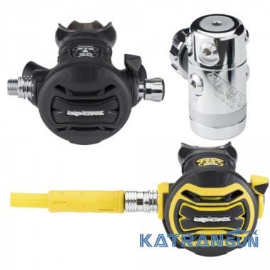 Комплект регуляторов Apeks XTX 50 DIN + октопус XTX 40
