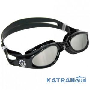 Зеркальные очки для плавания Aqua Sphere Kaiman, mirrored lens/black