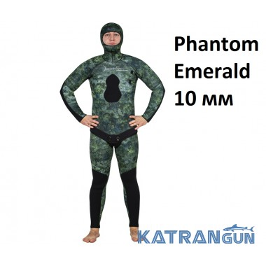 Гидрокостюм зимний Marlin Phantom Emerald 10 мм