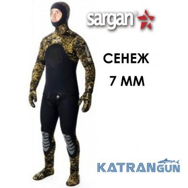 Гидрокостюмы подводная охота Sargan Сенеж 7 мм