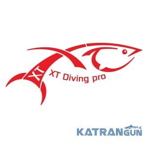 Груз XT Diving Pro, 800 г обрезиненный быстросъемный с D-кольцом