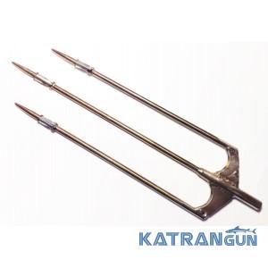 Трезубцы для подводных ружей Фирменный с фиксацией флажков из нержавеющей арбалетной стали