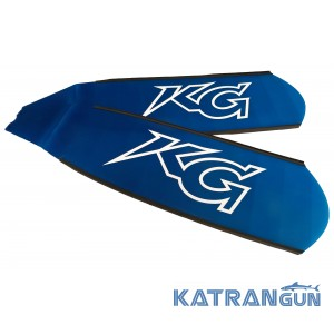 Стеклопластиковые лопасти для ласт KatranGun Freedive