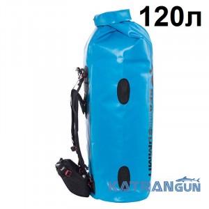 Большой гермочехол рюкзак Sea to Summit Hydraulic Dry Pack Harness 120 л