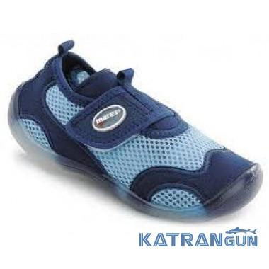 Коралловые тапочки Mares Aquashoes Aqua Junior; размеры 28 – 30
