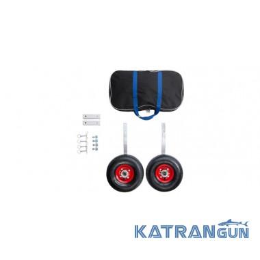 Транцевые колеса для надувной лодки Bark