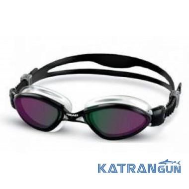 Очки для плавания зеркальные Head Tiger LSR + зеркальное покрытие