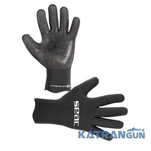 Неопреновые перчатки для подводной охоты Seac Sub Hyperflex, 2,5 мм
