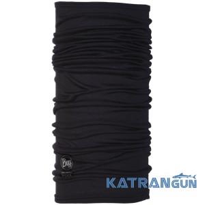 Ультралегкий шерстяной бафф Buff Lightweight Merino Wool Black