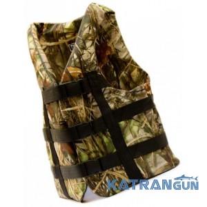 Страховочный жилет для рыбалки Bark, камуфляж, 70-90 кг
