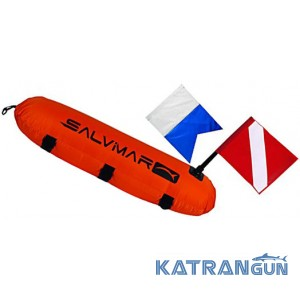 Cигнальний буй з двома прапорами Salvimar Torpedo