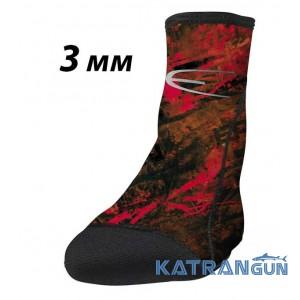 Носки для подводной охоты Epsealon Red Fusion Power Tex 3 мм