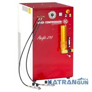 Электрический компрессор дайвинг высокого давления Nardi Pacific M 320
