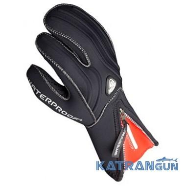 Дайверские перчатки Waterproof G1 3-Finger 5mm/ 7mm Semidry
