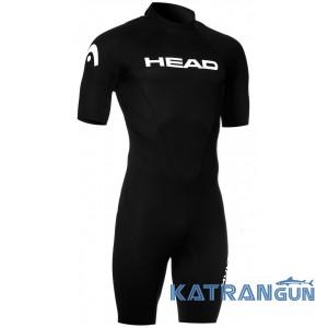 Короткий чоловічий гідрокостюм Head Multix VS Shorty 2.5 мм