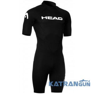 Короткий мужской гидрокостюм Head Multix VS Shorty 2.5 мм