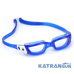 Подростковые очки для плавания Aqua Sphere Kameleon Jr; линзы прозрачные