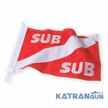 Нейлоновый флаг для буя Omer