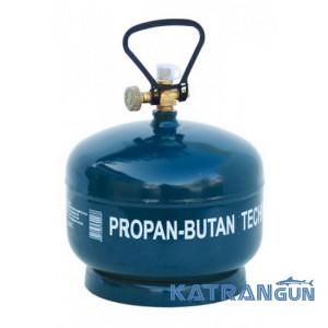 Балон газовий перезаправляємий GZWM Camping cylinder 4,8