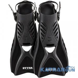 Ласти для плавання IST FK31 Otter, black