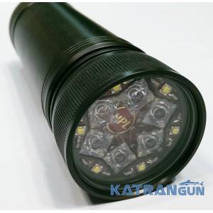 Мастеровой фонарь для подводной охоты премиум класса HunterProLight-4 Pulsar