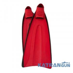 Ласты для дайвинга Poseidon Diving Fin; красные
