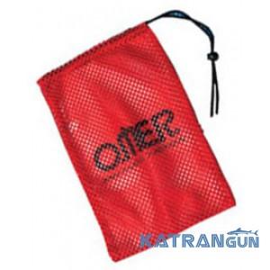 Сітка для підводного полювання Omer, червона, 20x30 см
