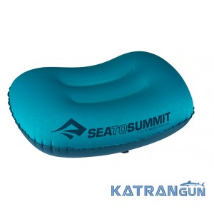 Подушка для кемпинга Sea to Summit Aeros Ultralight Pillow Regular Aqua