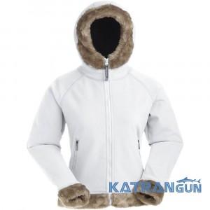 Женская куртка с капюшоном Marmot Wm's Furlong Jacket, white