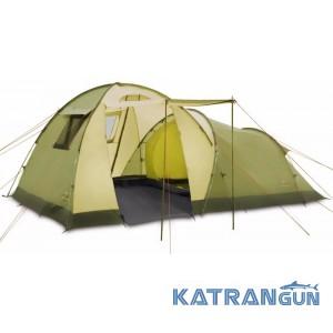 Палатка кемпинговая высокая Pinguin Omega 4, Green