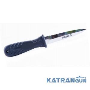 Нож для подводной охоты Sargan Телорез; зеркальный