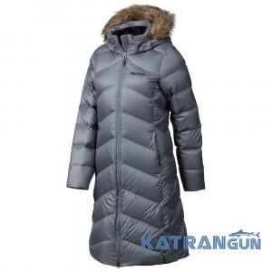 Пальто-парка з капюшоном Marmot Women's Montreaux Coat, Dark Steel