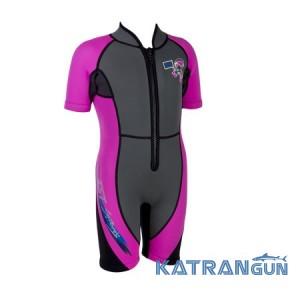 Детский гидрокостюм IST WSK03HP Jr. Shorty, розовый