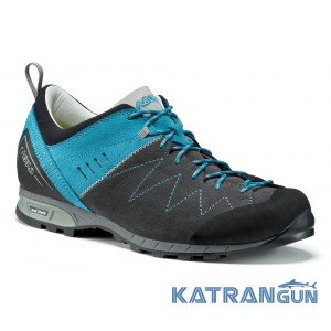 Кросівки туристичні Asolo Track ML, Graphite/Cyan Blue