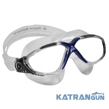 Очки для плавания Aqua Sphere Vista, линзы прозрачные