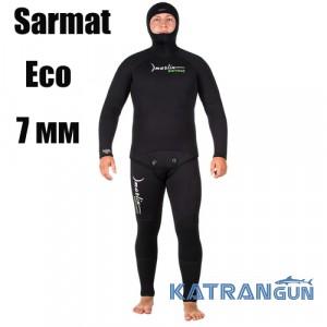 Гидрокостюм для подводной охоты Marlin Sarmat Eco 7 мм