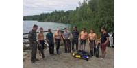 Тренування з підводного полювання на Соколівському кар'єрі на 30 метрах