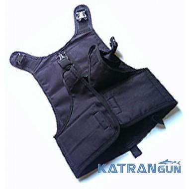 Жилет разгрузочный для подводной охоты KatranGun Full Back