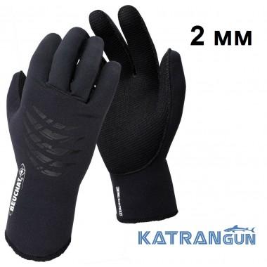 Тонкие неопреновые перчатки Beuchat Gloves Elaskin 2 мм