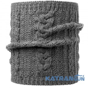 Повязка на шею Buff Knitted Neckwarmer Comfort Darla grey pewter
