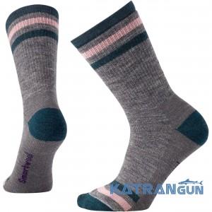 М'які зносостійкі шкарпетки SmartWool Wm's Striped Hike Medium Crew