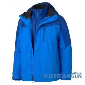 Качественная мембранная куртка Marmot Bastione Component Jacket, Sierra Blue/Indigo